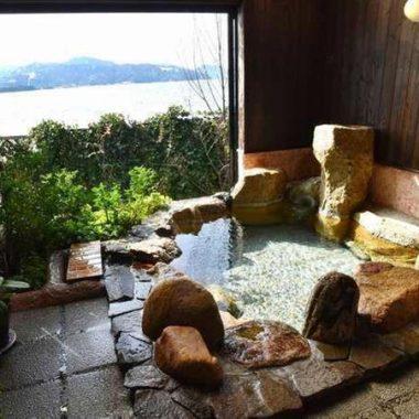 旅館一の家 露天風呂