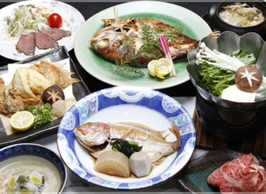 松風荘 お食事02