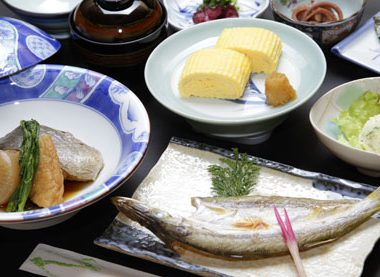 松風荘 お食事01